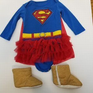 Infant Supergirl Costume, 9M